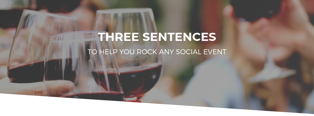 For the Socially Anxious: 3 Sentences to Remember